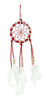 Mini Dream Catcher Dream Catcher Pendurado Handmade Vermelho