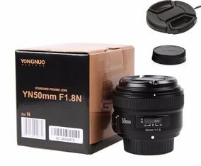 Lente Ef 50mm F1.8 Para Canon (yongnuo) + Tampas