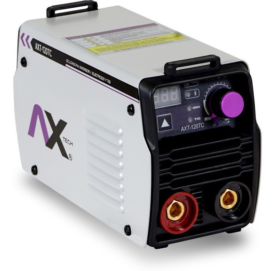 Soldadora Inversora 120 Amp 110v C/estuche Axt-120tc Axtech