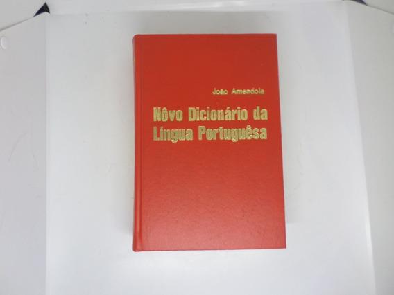 Novo Dicionaro Lingua Portuguesa João Amendola 1970 Antigo