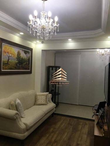 Apartamento Na Vila Augusta, 62m², 2 Dormitórios, 1 Suíte, 1 Vaga. - Ap1045