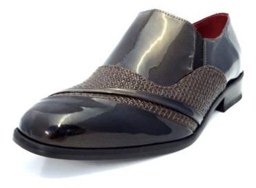 Sapato L´hombre Em Couro Para Dança - Ex7090