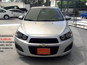 Chevrolet Sonic Ls Man Plata 2015, Excelentes Condiciones
