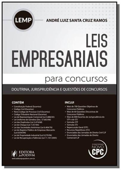 Legislacao Empresarial Para Concursos - Lemp
