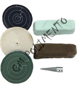 Kit 5 - Polimento Cutelaria-instrum Corte,faca Frete Gratis