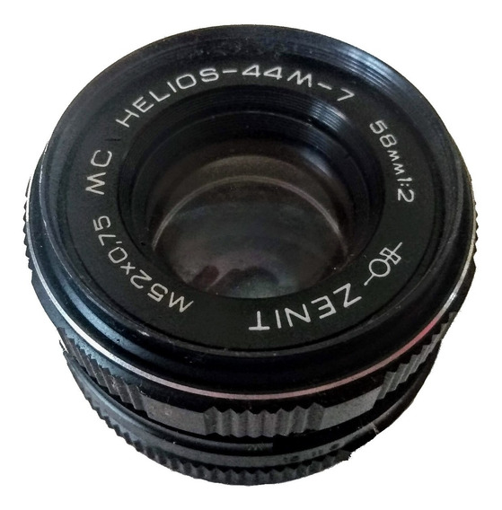 Lente Zenit 58mm 1:2