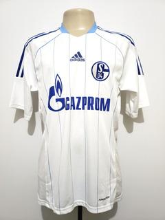 Camisa Futebol Schalke 04 Alemanha 2011 Away adidas G