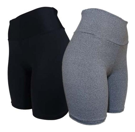 Shorts Feminino Cintura Alta Moda Academia Ref.8h2b