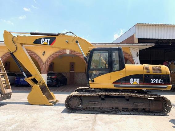 Excavadora Caterpillar 320cl Año: 2005