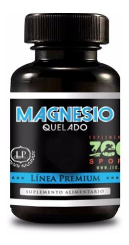 Magnesio Quelado Con Aminoácidos Para 3 Meses Citrato De Mag