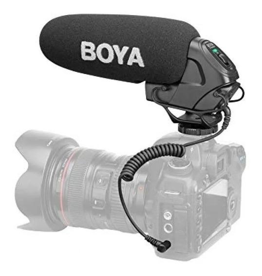 Microfone Shotgun Condensador Boya By-bm3030 12x S/juros