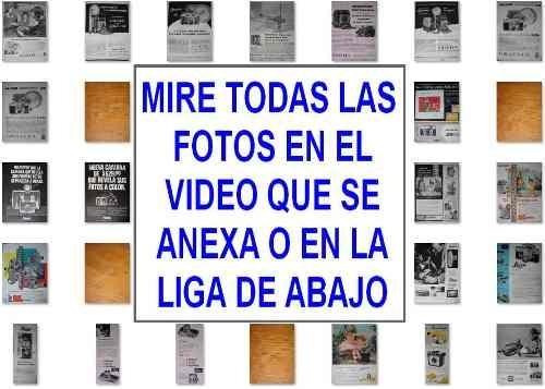 Lote 200 Carteles Publicidad Antigua Camaras Fotograficas