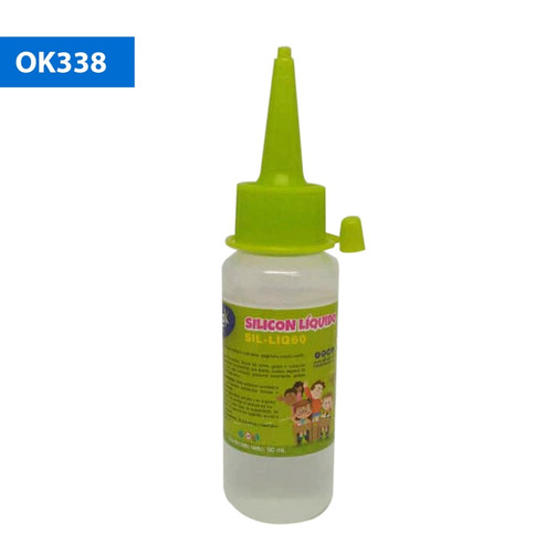 Imagen 1 de 3 de Silicona Liquida Adhesivo Ofimak 60ml. | Papelería Rayuela