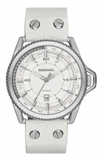Relógio Diesel Dz1755 (masculino) Rollcage - Branco
