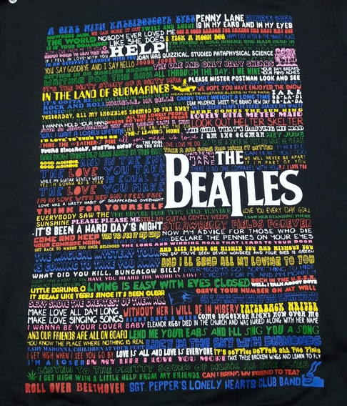 Moletom Beatles Letter Chemical Cm1673