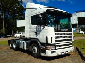 Scania R124 Ga Nz 400 6x2, Um Bruto!