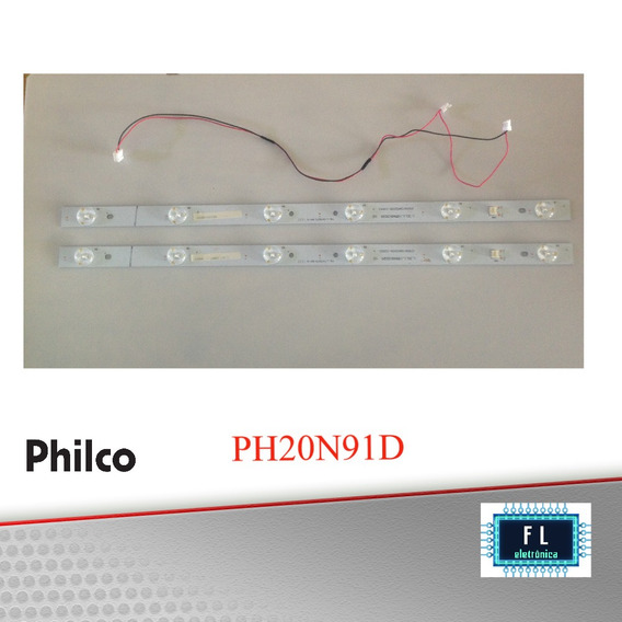 Kit De Réguas De Led Tv Philco Ph20n91d
