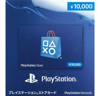 Cartão Psn Japonesa ¥10000 ( Dez Mil Ienes) O Mais Barato