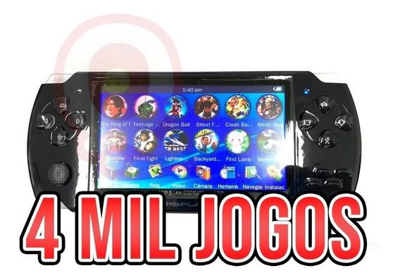 Nova Mini Game Portátil Com 4 Mil Jogos Player Mp3 Mp4 Mp5