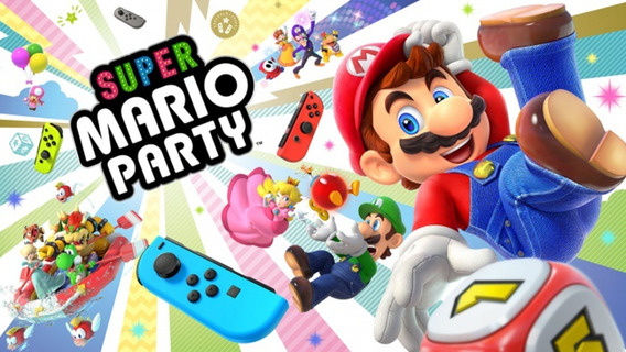 Super Mario Party Mídia Digital Switch