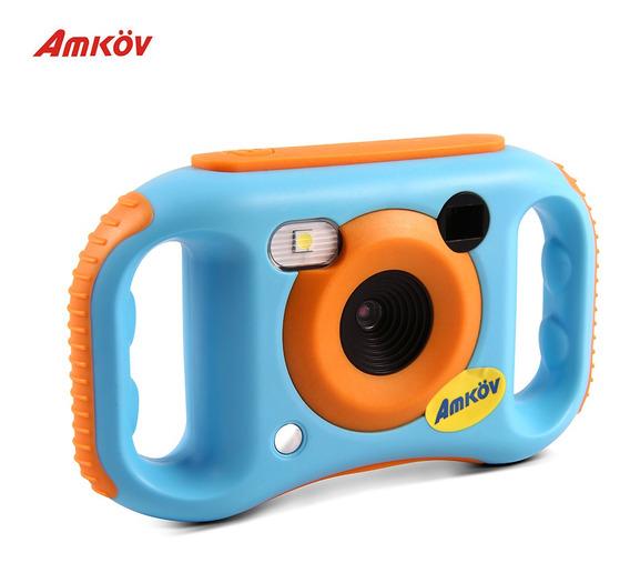 Amkov Kids Câmera De Vídeo Digital Wifi Conexão Max. 5 Mega