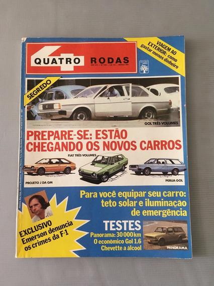 Revista Quatro Rodas - Março 1981 - Nº 248 Perua Gol Fiat