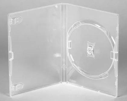 Kit 76 Box Dvd Amaray. Estojo Caixa Capas Transparente. Novo