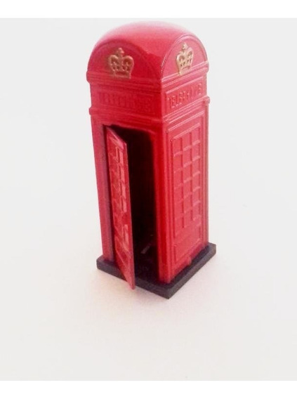 Miniatura Sacapunta Coleccion Cabina Inglesa A De Objetos