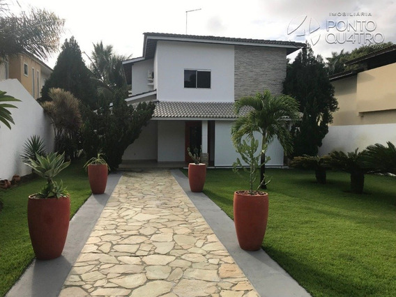 Casa Em Condominio - Vilas Do Atlantico - Ref: 4951 - V-4951