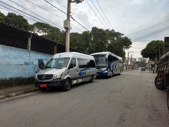 Van Sprinter 415 2.2 Teto Alto Mercedes Ún Dono Seminova