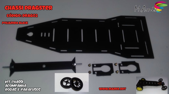 Chassi Dragster Projeto Wd2