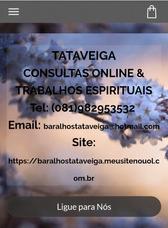 Consulta De Tarot, Baralho E Buzios
