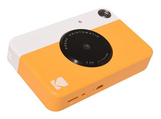 Câmera Digital E Analógica Kodak Amarela - Rodomatic