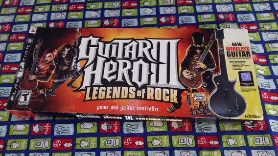Guitar Hero 3 Legends Of Rock Guitar Bundle Ps3 Ultima Peça