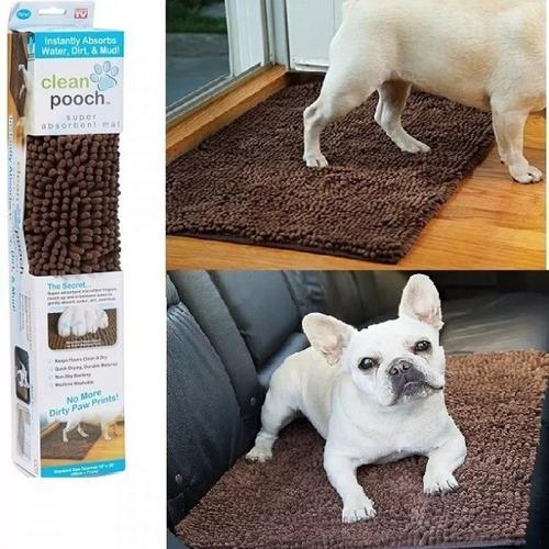 Tapete Clean Pooch Para Que Tus Mascotas No Entren Mugre