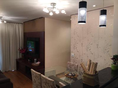 Apartamento Com 3 Dormitórios À Venda, 68 M² Por R$ 390.000 - Jardim Tupanci - Barueri/sp - Ap0119