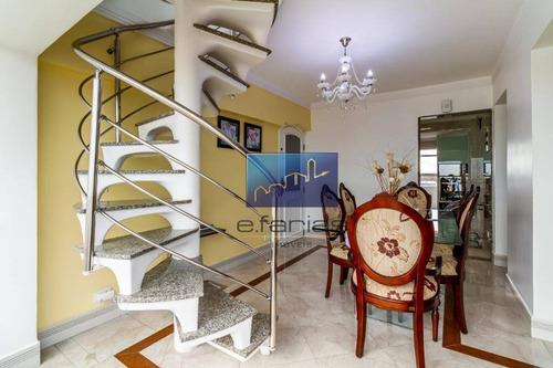 Cobertura Com 2 Dormitórios À Venda, 120 M² Por R$ 470.000,00 - Vila Matilde - São Paulo/sp - Co0015