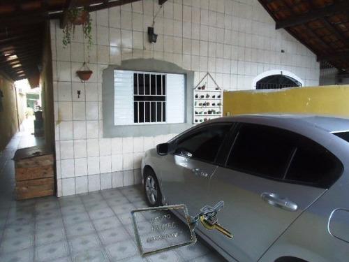 Casa A Venda No Bairro Vila Caiçara Em Praia Grande - Sp.  - 3603-1