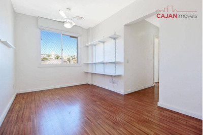 Apartamento Semi Mobiliado Com 2 Dormitórios E 1 Vaga No Partenon - Ap4236