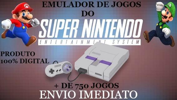 Emulador Snes9x ( Emulador + Jogos Do Super Nintendo ) S.nes