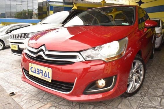 C4 1.6 Exclusive 16v Turbo Gasolina 4p Automático