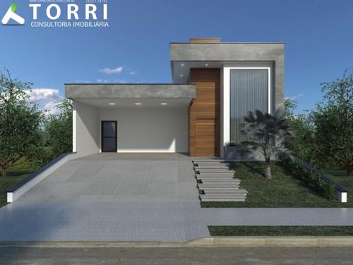 Imagem 1 de 2 de Casa Térrea À Venda No Condomínio Sunlake - Cc00303 - 69558561
