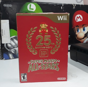 2371370eb72 Super Mario Allstars Limited Edition Wii Top! Loja Física!