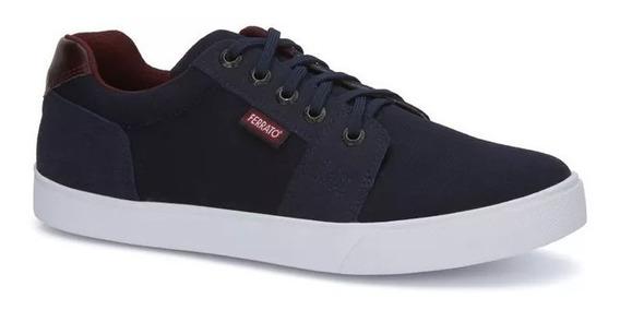 Estilo Urban Tenis Sneaker Azul Marino Juvenil Hombre2589169