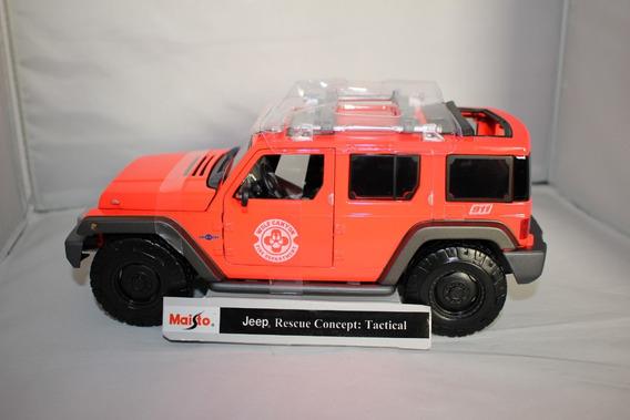 Miniatura Maisto Escala 1:18 - Jeep Rescue Concept: Tactical