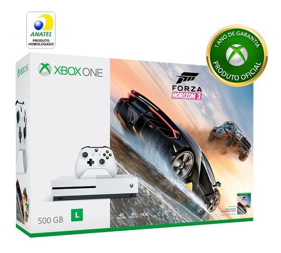 Console Microsoft Xbox One S 500gb - Forza Horizon 3