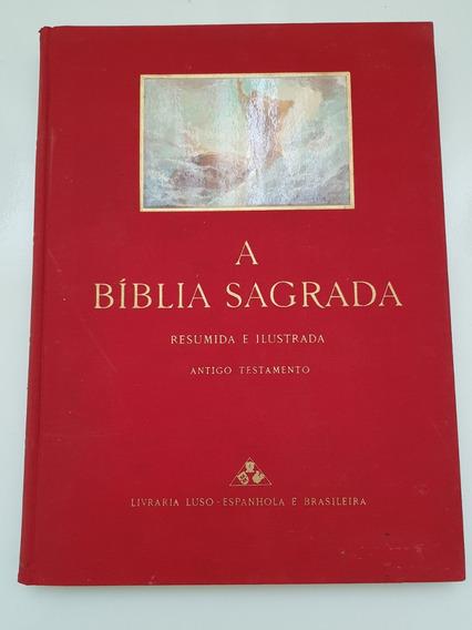 A Bíblia Sagrada Resumida E Ilustrada 1958 Ed Luso Brasileir
