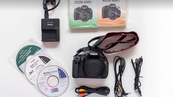 Camera Fotográfica Canon Corpo Com Acessórios . A Vista 998