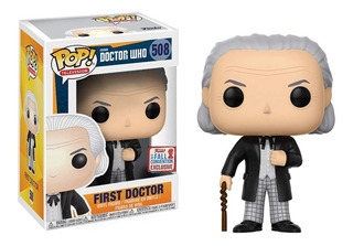Funko Pop First Doctor Nycc 2017 Comic Con Fall Convention