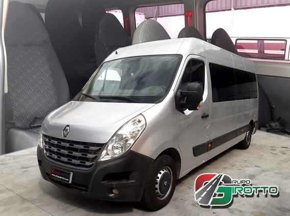 Renault Master L3h2 Executiva Prata Seminova 2015 Financiada